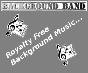 Background Band Music Banner 300